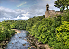 The River Tees at Barnard Castle