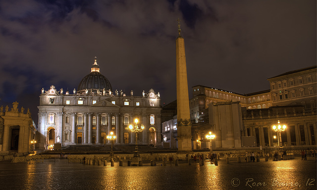 St. Peters basilica, Italy.