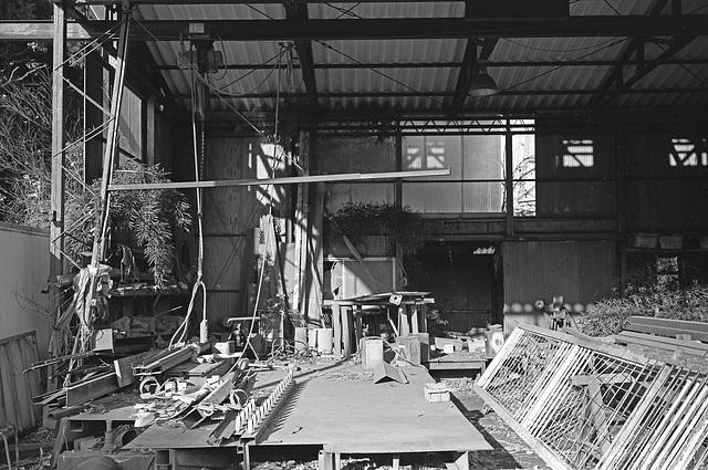 Abandoned ironworks