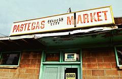 Pastega's Market, vacant