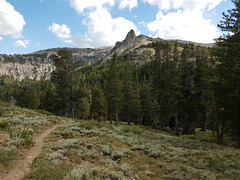 PCT and Spire off Arnot Peak