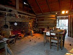 Pioneer Christmas House