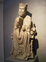 David with harp (3rd quarter of 12th century).