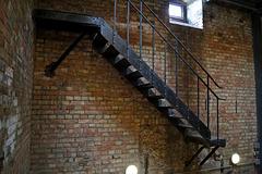 Alte Treppe im Turm