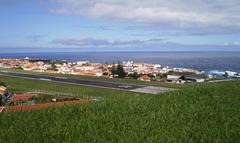 View over Santa Cruz das Flores.