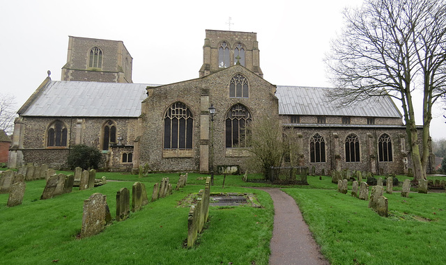 dereham church, norfolk