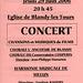 Concert à Blandy-les-Tours le 29 juin 2006