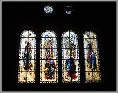 Vitrail de la Cathédrale Saint Vincent à Saint Malo (35)