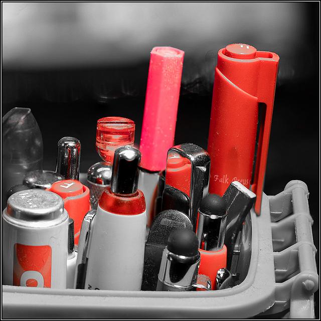 MM - Alle roten Stifte