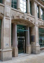 Doorway in Temple Street, Birmingham