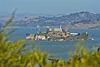 Alcatraz du haut de Coit Tower