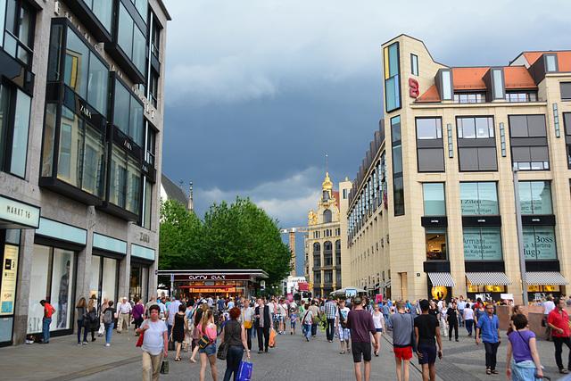 Leipzig 2015 – Dark clouds over Leipzig
