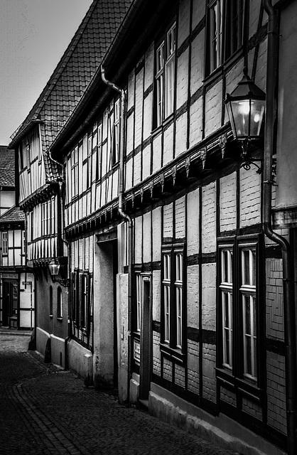 Evening Mood in Quedlinburg