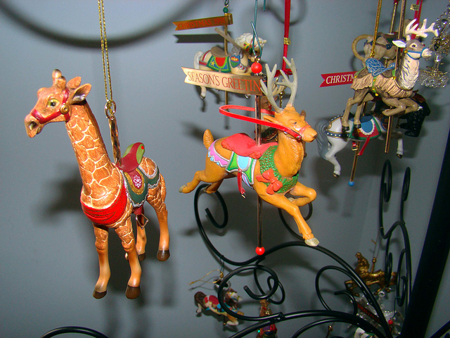 Christmas Carousel Ornaments