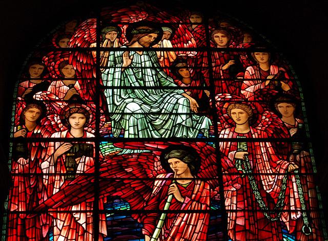 Ascension Window, by Sir Edward Burne Jones, Birmingham Cathedral, West Midlands