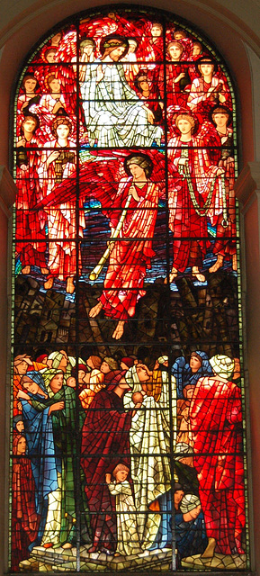 Ascension Window, by Sir Edward Burne Jones, Birmingham Cathedral, West Midlands