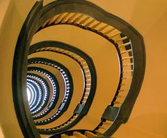 Treppen im Kontorhaus Meßberg #03/50