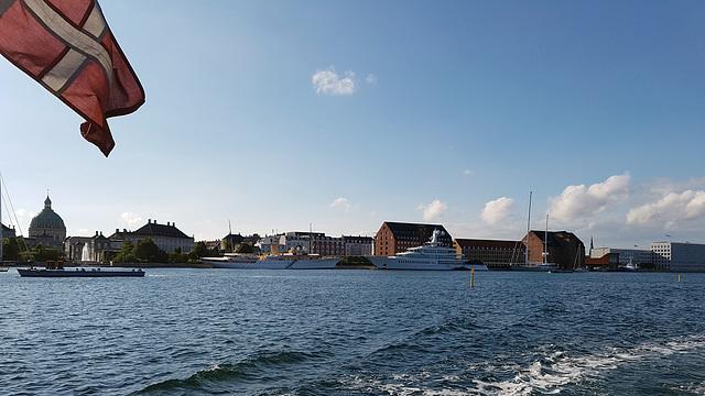 Architektur, Hochseeyachten und schönes Wetter in Kopenhagen