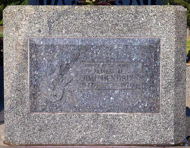Jimi Hendrix Gravestone