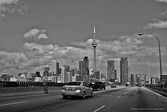 Black & White Friday : Toronto Skyline