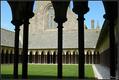Cloitre de l'Abbaye du Mont Saint Michel
