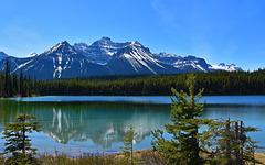Herbert Lake im Banff National Park, Alberta, Canada