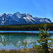 Herbert Lake im Banff National Park, Alberta, Canada