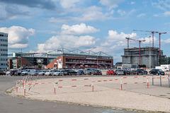 HFF mit Millerntor-Stadion und Flakbunker IV Heiligengeistfeld