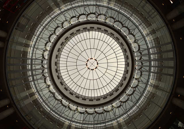 Glaskuppel in der Schirn Kunsthalle (Frankfurt a.M.)