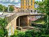 Schwerin Wallstraße Eisenbahnbrücke