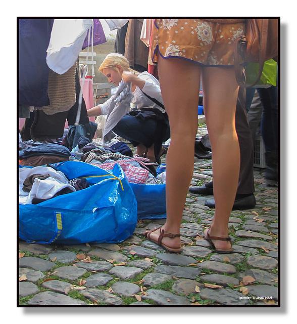 --- auf dem Flohmarkt