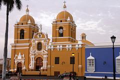 A rainy day in Trujillo