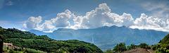 Imposante Wolken über dem Monte Baldo. ©UdoSm