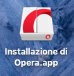 Opera, DMG installation 2016-09-09