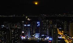 Moon over Chengdu