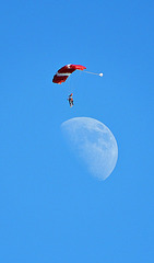 se poser sur la lune