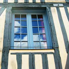 ...bleu et blanc en Bourgogne...