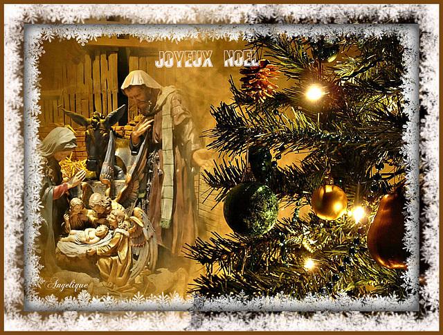 Joyeuses fêtes et bon réveillon à tous !