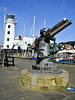 1914 gun recovered from the SS Hornsund, Scarborough