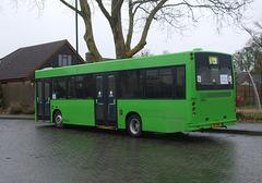DSCF3173 Stevensons of Essex driver training bus A17 SOE (LK03 NLG) in Mildenhall - 12 Apr 2016