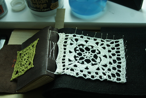 crochet book making of 02
