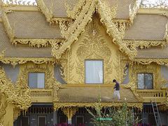 Wat Rong Khun 18a Toilet building D25 18a