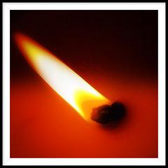 Flame of hope.