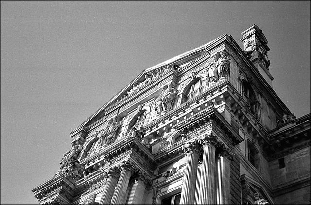 Le Louvre.