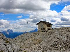 Rifugio Kostner  2600 mt - Corvara gruppo del Sella
