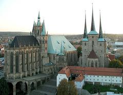 Hohe Domkirche St. Marien, der Erfurter Dom