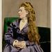 Clara Rousby, British Stage Actress, ca. 1870s