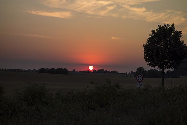 Sommererinnerungen - Sommersonnenuntergang