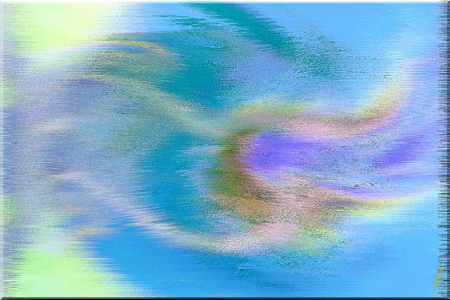 On sent, dans l'air qui s'effondre, Son âme en extase fondre..