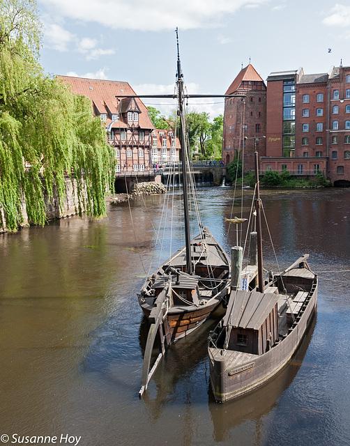 Lüneburg, an der Ilmenau